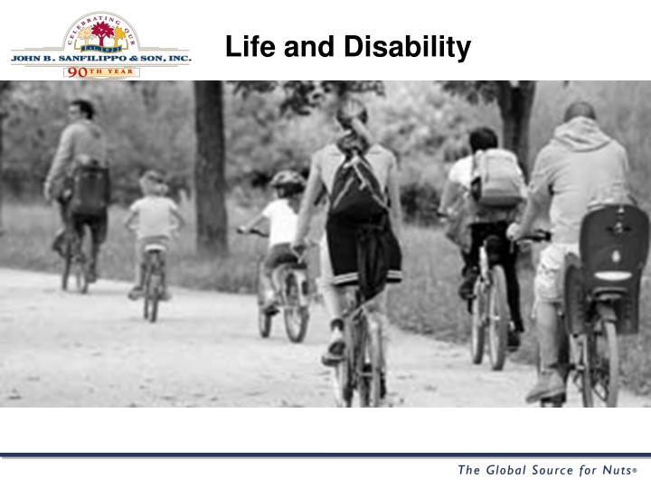 Life and Disability