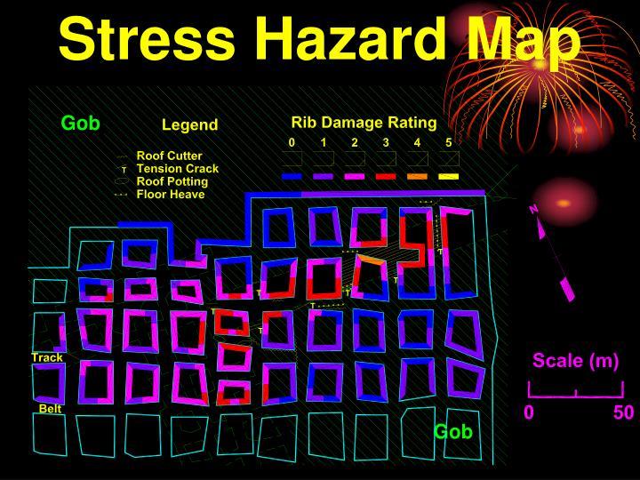 Stress Hazard Map