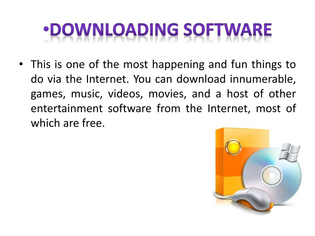 PPT - The Advantages & Disadvantages of The Internet