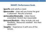 smart performance goals