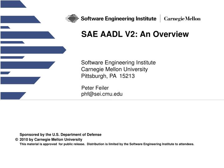 sae aadl v2 an overview n.
