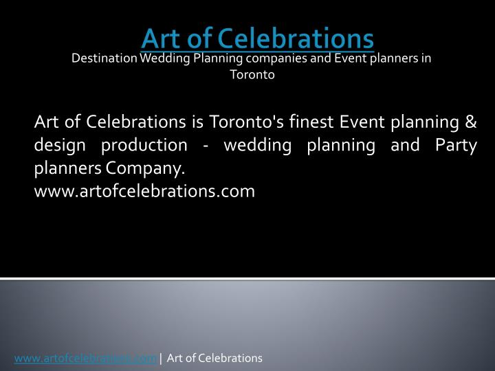 destination wedding planning companies and event planners in toronto n.