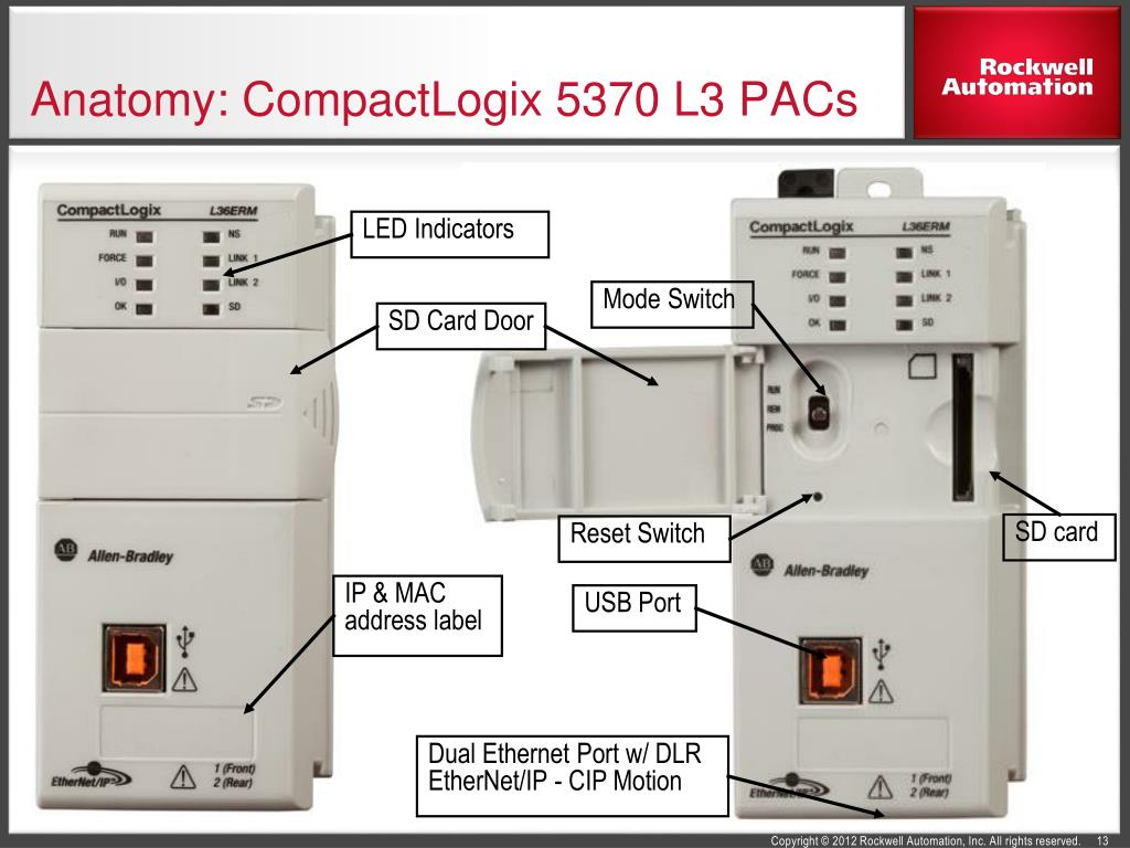 PPT - CompactLogix 5370 Programmable Automation Controllers