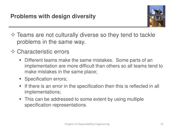 Teams are not culturally diverse so they tend to tackle problems in the same way.