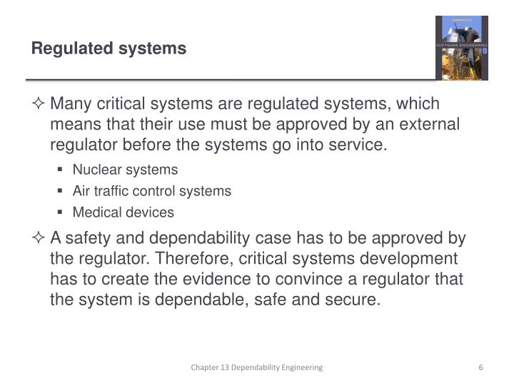 Regulated systems