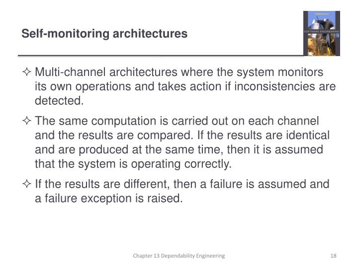 Self-monitoring architectures