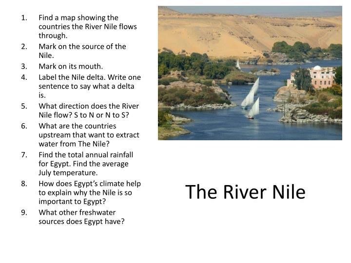 The River Nile