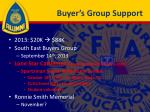 buyer s group support