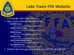 lake travis ffa website