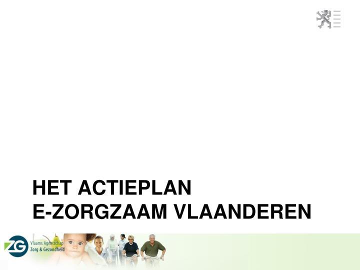 Het actieplan