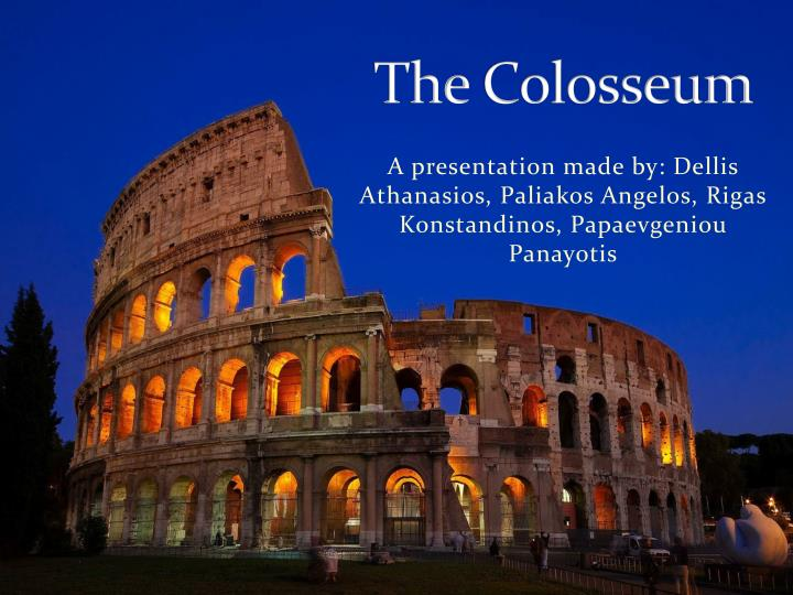 the colosseum n.