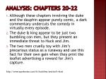 analysis chapters 20 22
