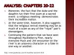 analysis chapters 20 221