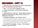 discussion chpt 12