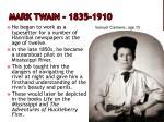 mark twain 1835 19101