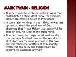 mark twain religion1