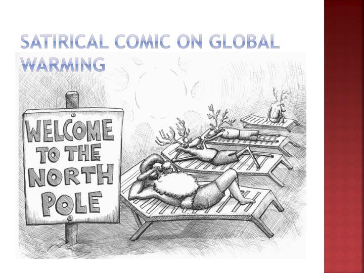 Satirical comic on Global Warming