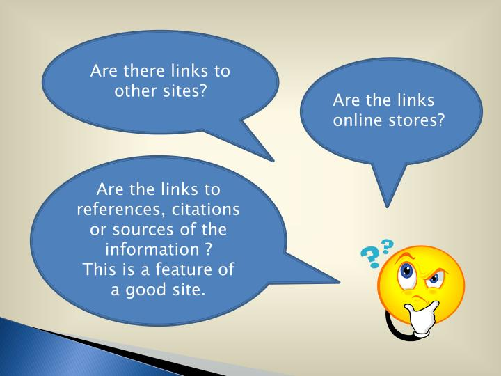 Are there links to
