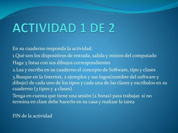 ACTIVIDAD 1 DE 2