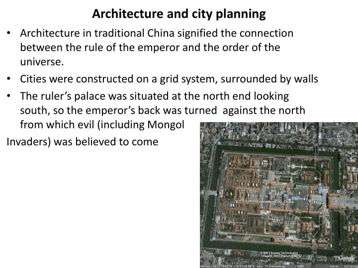 Architecture and city planning