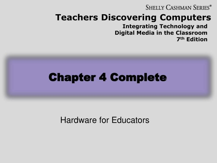 Chapter 4 Complete