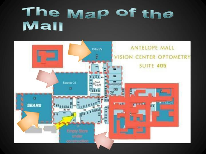 The Map of the Mall