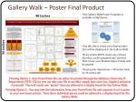 gallery walk poster final product