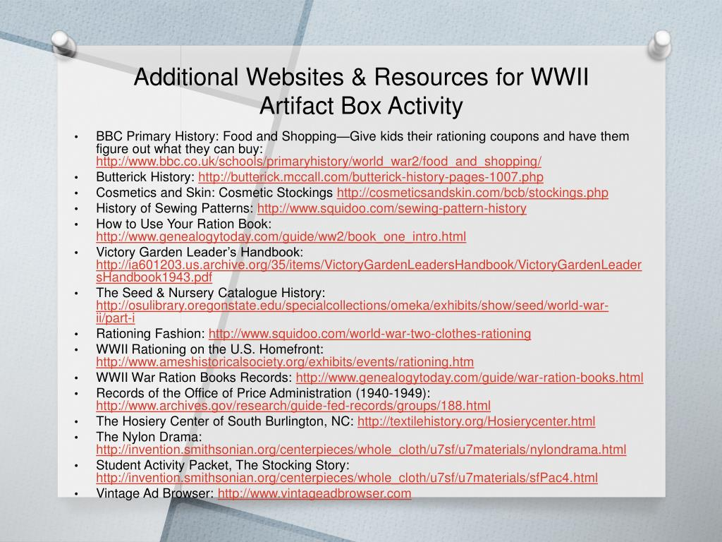 PPT - Teaching With Artifacts PowerPoint Presentation - ID