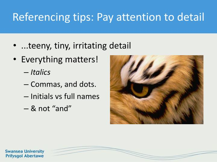how to pay attention to detail tips