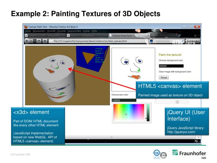 Example 2: Painting Textures of 3D Objects