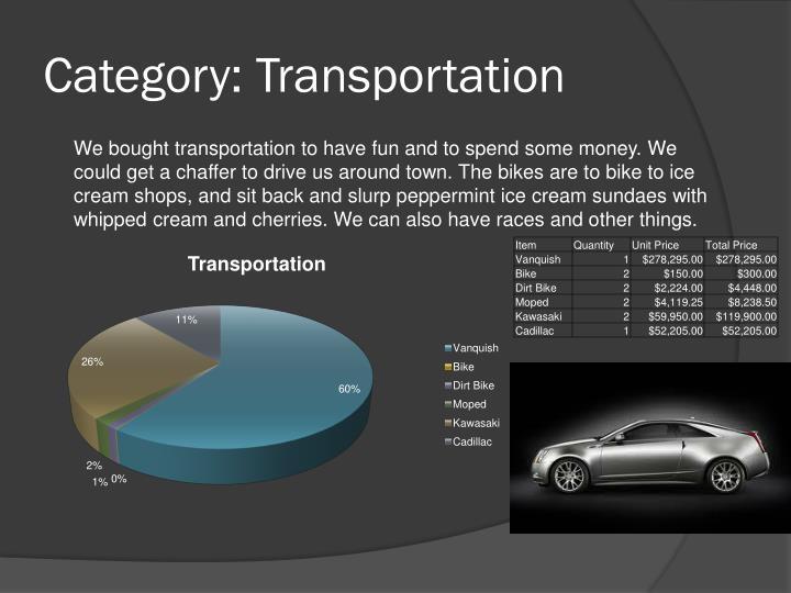 Category: Transportation