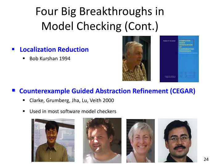 Four Big Breakthroughs in