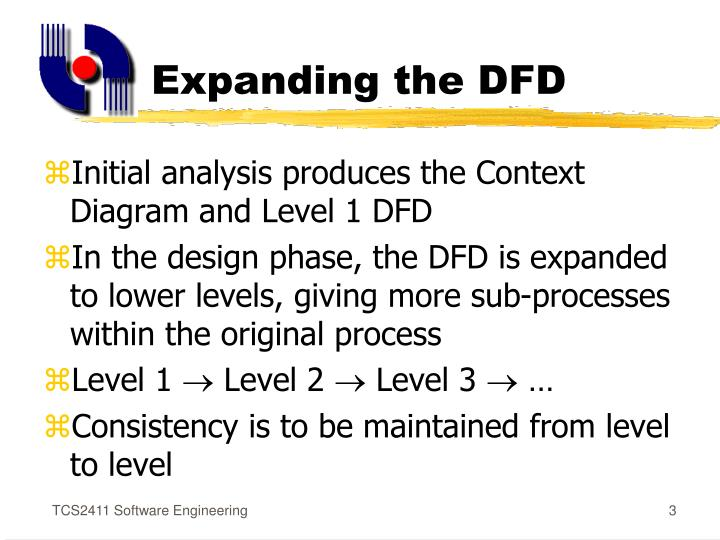 Expanding the dfd
