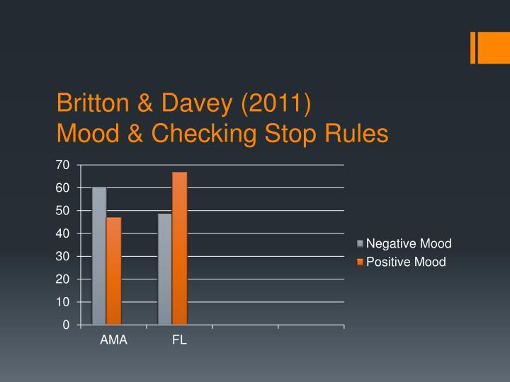 Britton & Davey (2011)