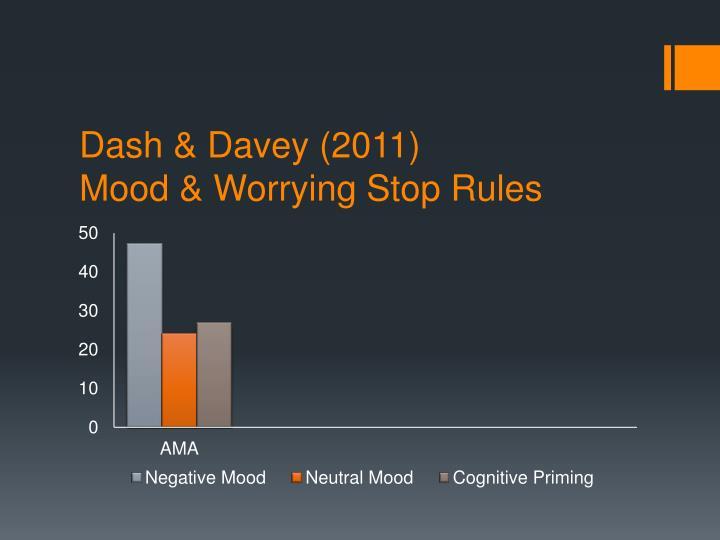 Dash & Davey (2011)