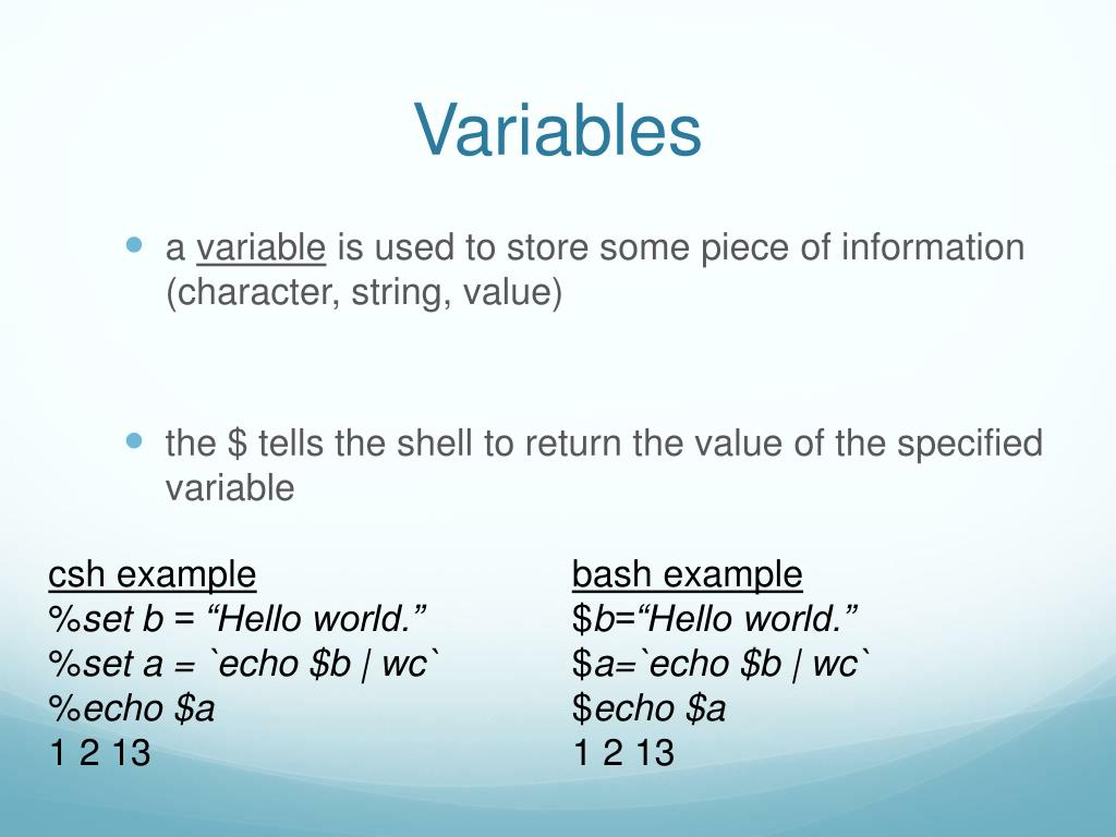 PPT - Shell Scripting PowerPoint Presentation - ID:1583066