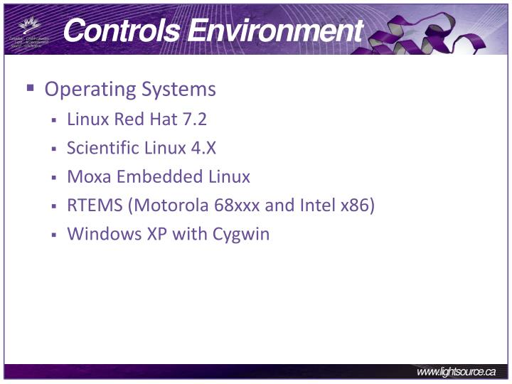 Controls environment1