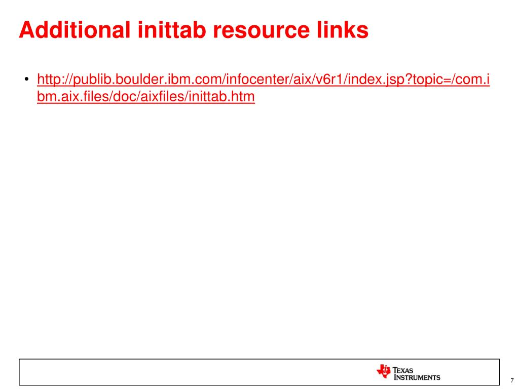PPT - Introduction to Linux Init Scripts PowerPoint