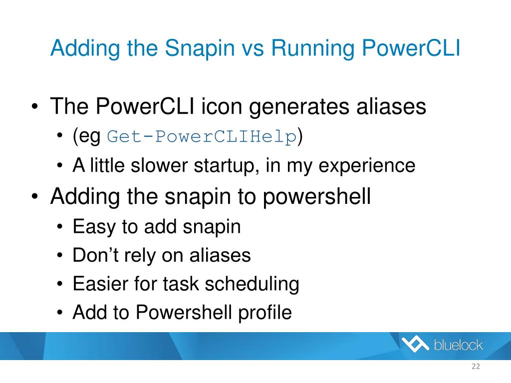 PPT - Getting Started with VMware PowerCLI PowerPoint