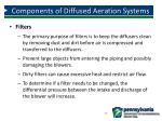 components of diffused aeration systems1