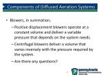 components of diffused aeration systems7
