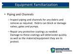 equipment familiarization2