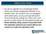 safety case study