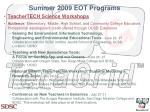 summer 2009 eot programs1
