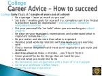 career advice how to succeed1