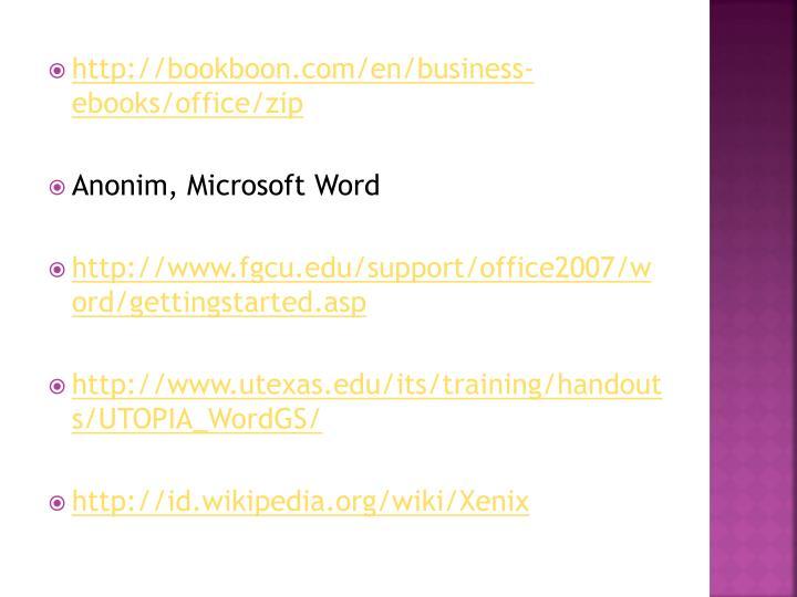 http://bookboon.com/en/business-ebooks/office/zip