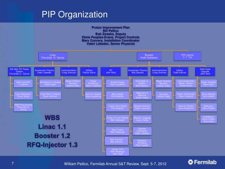 PIP Organization