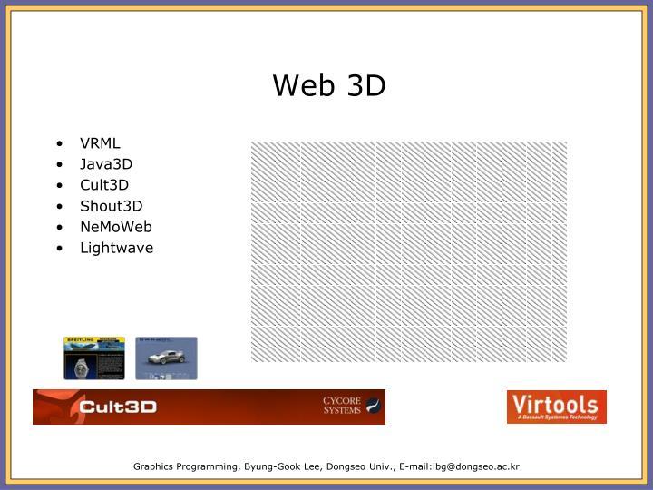 Web 3D