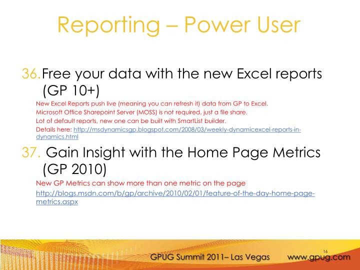 Free your data with the new Excel