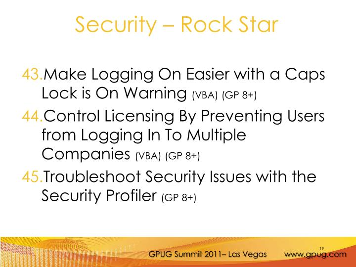 Make Logging On Easier with a Caps Lock is On